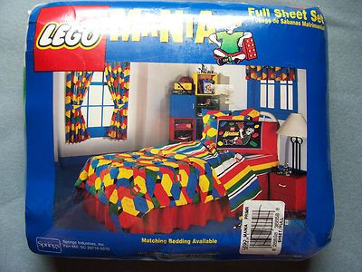 Lego bedding.. Died and gone to play land   fun/LOTSA LEGOS ...