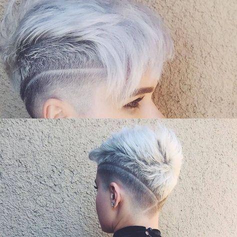 10 Stilvolle Pixie Haircuts Undercut Frisuren Frauen
