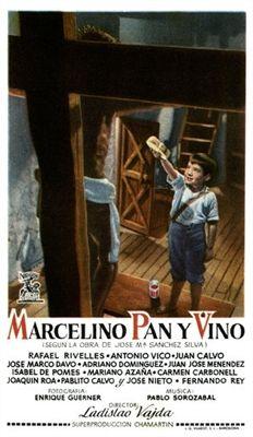 Marcelino pan y vino 1954 Poster