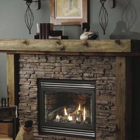 Kingsman HB3632 Zero-Clearance Direct Vent Gas Fireplace Heater ...