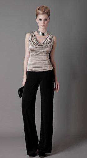 Pantolonlu Abiye Modelleri Model