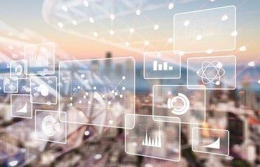 Analytics Data Big Business Intelligence Background Bi Aff