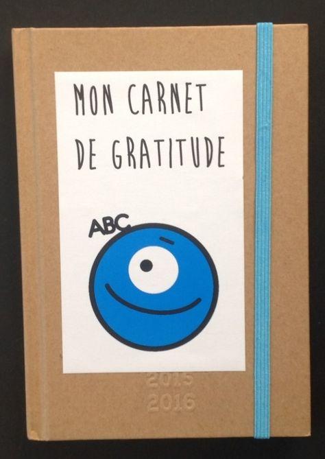 Carnet gratitude