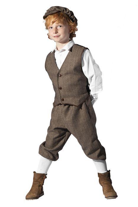 2cf32bb38 Shelby kostuum set kind   Peaky Blinders kleding - Visgraatmotief, Stijl en  Overhemd