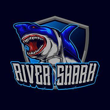 Blue Shark Mascot Logo Illustration For Tshirt Design In 2021 Logo Illustration Character Design Funny Faces