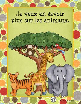 Classification Et Caracteristiques Des Animaux Learn French French Pictures French Adjectives