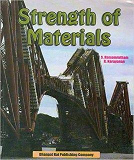 SOM S Ramamrutham PDF Free Download, Strength of Materials