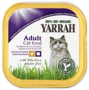 Yarrah Organic Chicken And Turkey Chunks Cat Food 100 G Pack Of Avec Images Nourriture Animaux Nourriture Animaux