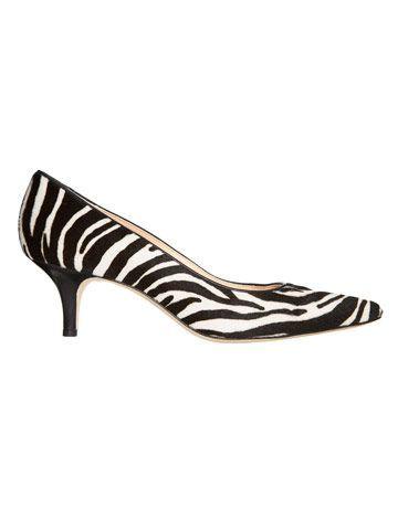 Kitten Heels Zebra print is all for
