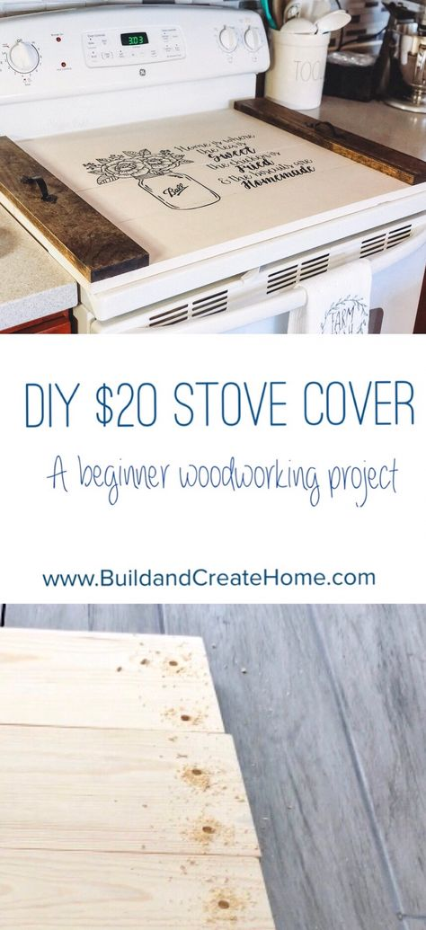 Woodworking Ideas Old DIY Stove Cover / Noodle Board. Ideas Old DIY Stove Cover / Noodle Board. Beginner Woodworking Projects, Woodworking Patterns, Woodworking Workshop, Popular Woodworking, Woodworking Jigs, Custom Woodworking, Woodworking Furniture, Wood Furniture, Furniture Plans