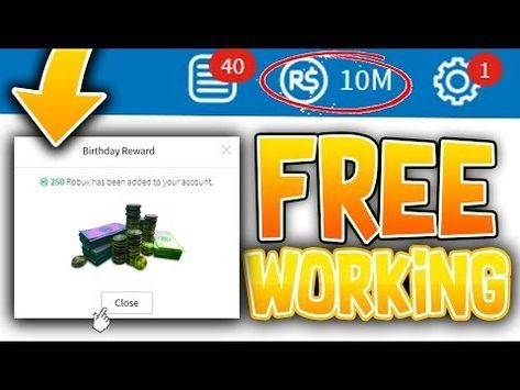 This Is How To Earn Robux Online Youtube 2019 New Glitch 1 Million Robux From Changing Birthday Hack Free Robux On Roblox 2019 Youtube Roblox Android Hacks Ios Games