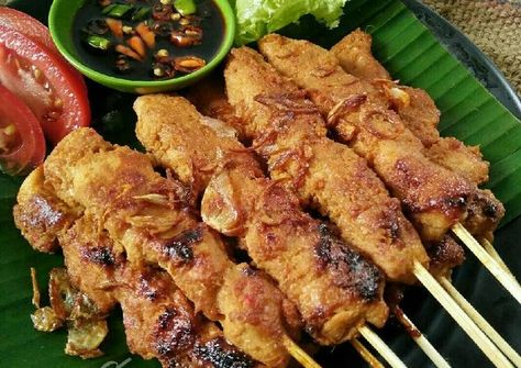Resep Sate Ayam Pedas Manis Empuk Meresap Tips Pr Sate
