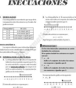 Inecuaciones Fraccionarias Y De Grado Superior Ejemplos Resueltos Pdf Matematica Pregunt Inecuaciones Ejercicios Matematicos Secundaria Libros De Matemáticas