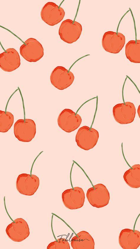 𝖈𝖍𝖊𝖗𝖗𝖞 𝖇𝖆𝖈𝖐𝖌𝖗𝖔𝖚𝖓𝖉 Cute Patterns Wallpaper Iphone Background Wallpaper Art Wallpaper
