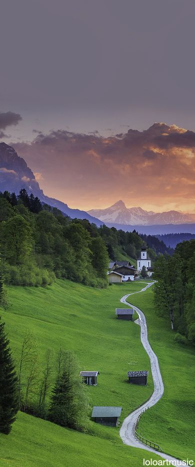 Wamberg, Bavaria, Germany