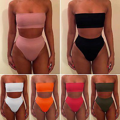 Women Push-up Padded Bra Bikini Set Swimsuit Swimwear Bathing Suit Beachwear Lot