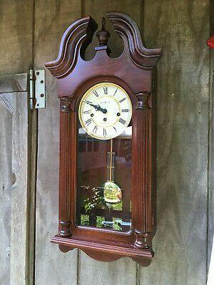 Ebay Ad Link Howard Miller David Wall Clock Model 620 234 Westminster Chime Runs Sounds Nice Wall Clock Clock Antique Wall Clock