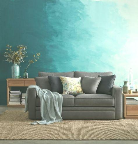 Pittura murale soggiorno con pittura murale vernice-ombre