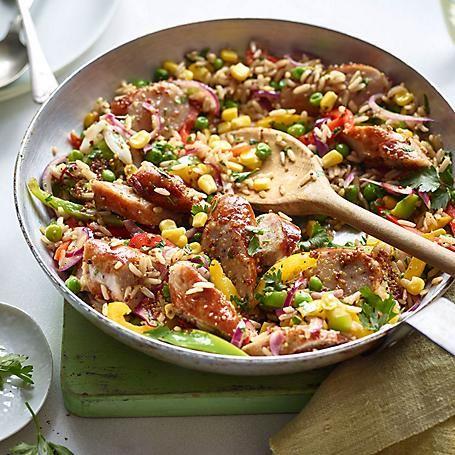Recipes Asda Groceries Sausage Rice Sausage Dishes Food