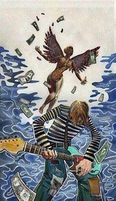 Kurt Cobain cartoon