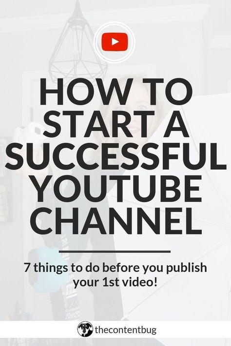 Do you want to become a YouTuber? I first got started on YouTube a year ago. And since then I've learned a lot about how to create better videos, optimize your profile, and increase your exposure. But today, I just want to share 7 tips to start a successful YouTube channel.   Starting a YouTube Channel   YouTube Channel Ideas   How to create a YouTube channel   How to film YouTube videos   How to edit YouTube videos #youtubetips #youtuber via @thecontentbug