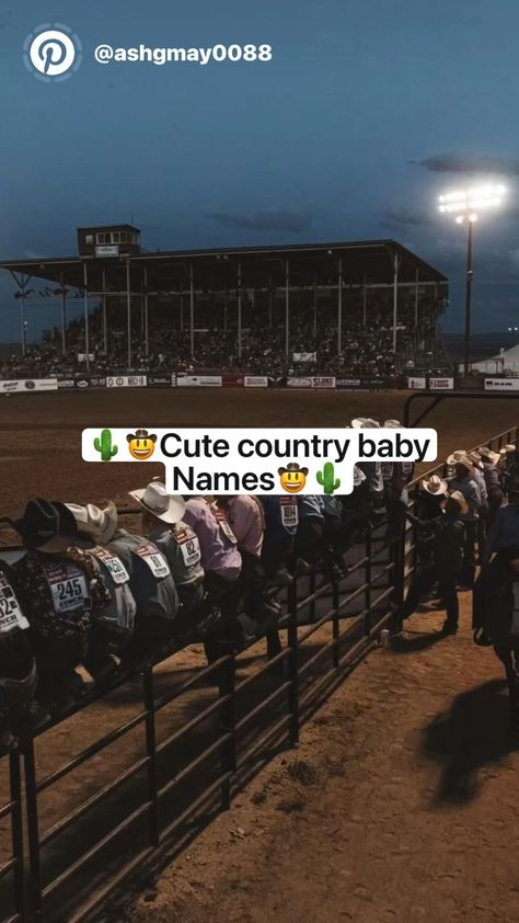 Cute country baby names