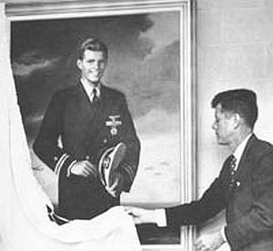 Kennedy Jr. brother of JFK New 8x10 Photo US Navy Ensign Joseph P