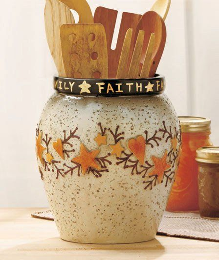 Heart And Star Kitchen Decor Fresh Country Crock Primitive Bathroom Dining Home Decorating Toddler Girls Room