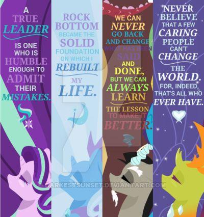 Reformed Bookmark Pack by DarkestSunset