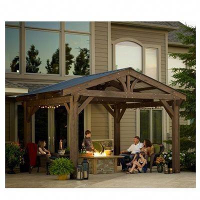 Outdoor Great Room Lodge Ii Pergolas Pergola Pergola Patio Pergola Outdoor Patio