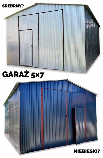 Garaz Blaszany Z Dachem Dwuspadowym Hale Wiaty 5x7 9238416996 Oficjalne Archiwum Allegro Outdoor Storage Outdoor Decor Outdoor Storage Box