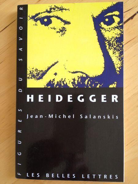Heidegger Par Jean Michel Salanskis Belles Lettres Histoire De La Philosophie Epistemologie