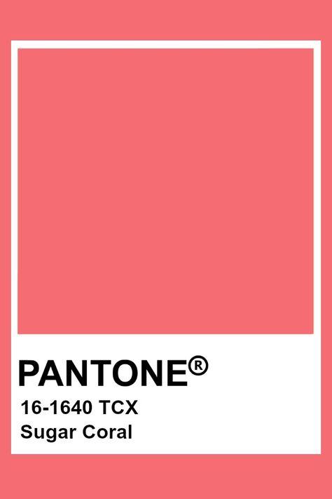Pantone Sugar Coral