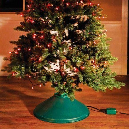 Christmas Tree Stand Ez Rotate Christmas Decoration Walmart Com In 2020 Rotating Christmas Tree Stand Rotating Christmas Tree Christmas Tree Stand