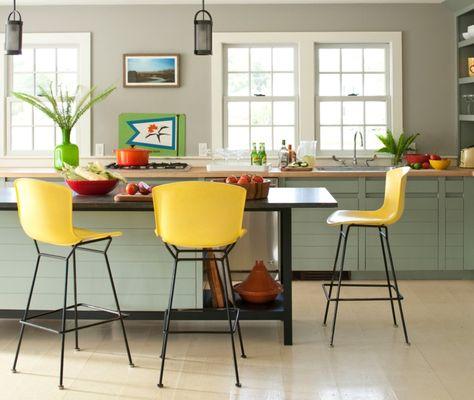 Barhocker Küche Gelb Frisch Kücheninsel Pflanze | New Kitchen | Pinterest |  Kitchens