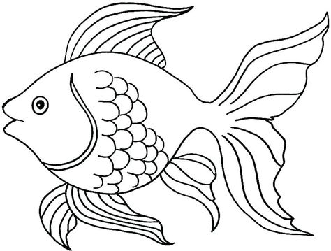 Cute Fish Coloring Pages For Kids From The Finding Nemo Movie