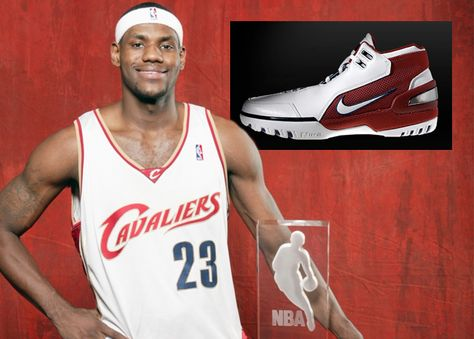 Lebron James - Rookie of the Year - Nike Air Zoom Generation 1st lebrons 4fe463bc28a4