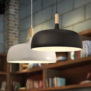 One Light White Shade Japanese Country Pendant Lights Lampade Lampadari Lampade A Sospensione