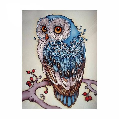 Cheap painting cross stitch, Buy Quality diamond embroidery paintings directly from China diamond painting cross stitch Suppliers: Diamond Embroidery Paintings Rhinestone Pasted Diy Diamond Painting Cross Stitch Silly cute owl Diamond Mosaic Room Decor