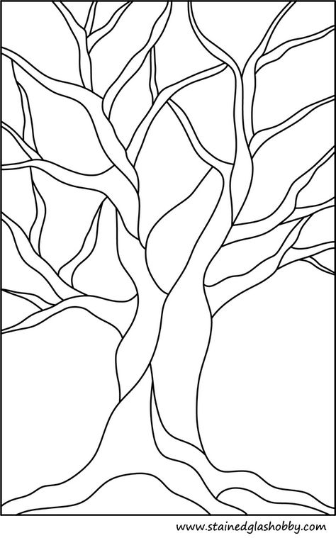zentangle this Free Printable Stained Glass Pattern - would look great on a scarf or wall hanging! Stained Glass Patterns Free, Stained Glass Quilt, Stained Glass Projects, Free Mosaic Patterns, Tree Patterns, Faux Stained Glass, Stained Glass Designs, Quilting Patterns, Quilting Templates