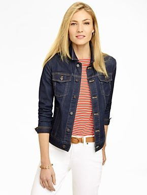 Talbots - Classic Denim Jacket | Customer Top Rated |