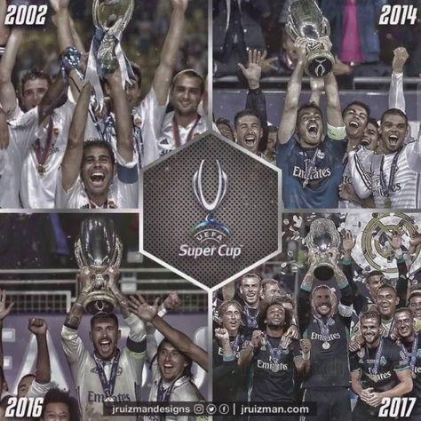 #madbien #UEFASupercup POKER 2002 2014 2016 y 2017  by @jruizmandesigns