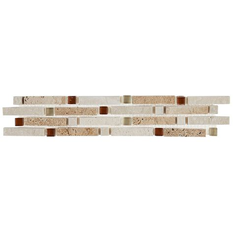 Rustic Style 2x10 Inch Ceramic Wall Border In Universal Glazed Ceramic Wall 2x10 Decorative Tile Border Tiles Tile Installation