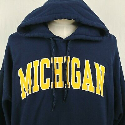 Michigan Wolverines College Football Sweatshirt Hoodie Adult