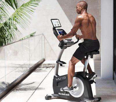 Nordictrack Commercial Vu 19 Exercisebike Eview Biking Workout