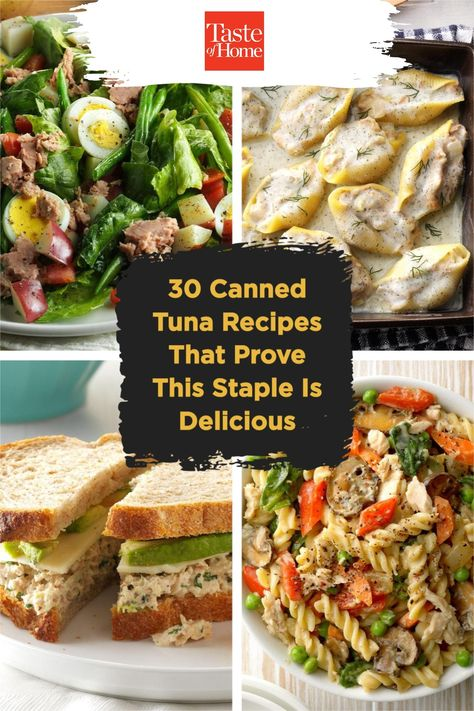 Keep these canned tuna recipes in your back pocket to pull out on a busy day.
