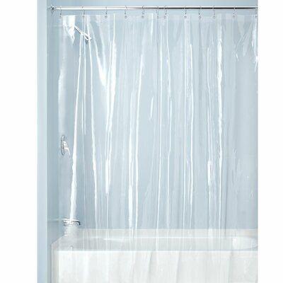 Symple Stuff Simcox Vinyl Single Shower Curtain Liner Colour