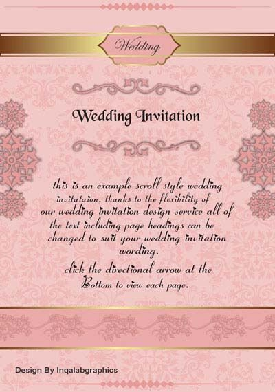 Coreldraw Wedding Card Designs Free Wedding Card Design Scroll Wedding Invitations Wedding Cards