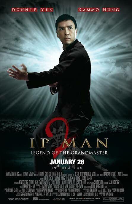 Ip Man 2 2010 Donnie Yen Sammo Hung Ip Man Martial Arts Film Kung Fu Movies