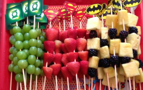Simple Superhero Party Food Ideas You Can Make In birthday boy party ideas. More in my web site Simple Superhero Party Food Ideas You Can Make In Minutes superhero party food Tinley's BD. Superhero Party Food, Superhero Baby Shower, Marvel Baby Shower, Superman Party, Batman Party Foods, Batman Food, Superhero Treats, Superman Baby Shower, Superhero Party Invitations